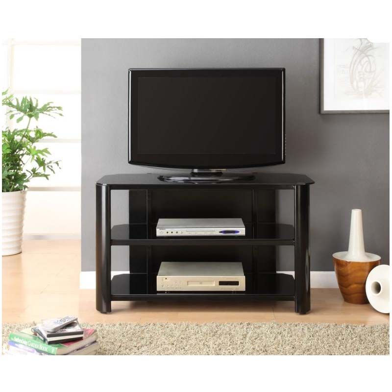 Innovex Oxford Series 46 Inch Flat Screen Tv Stand Black