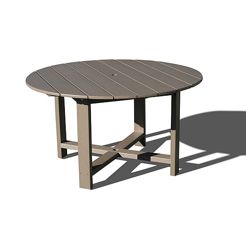 VIFAH Outdoor Recycled Plastic Round Dining Table V1094