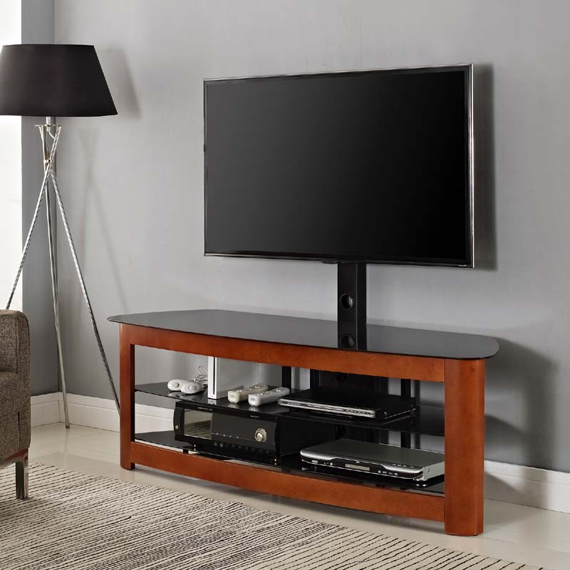 Walker Edison 65 inch TV Stand with Integrated Mount ...