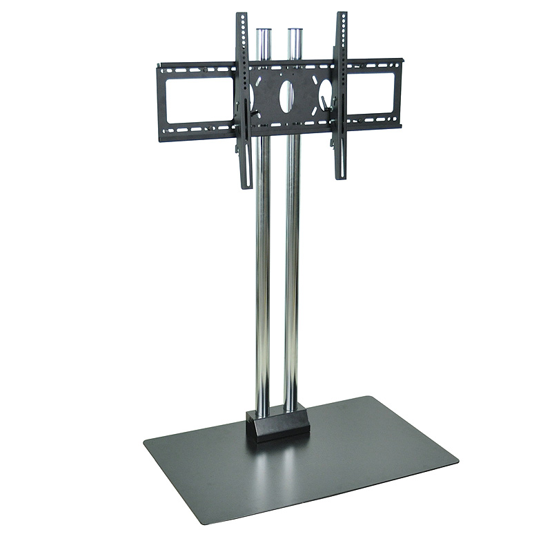 H wilson mobile commercial tv pedestal for 26 60 inch for Stand commercial