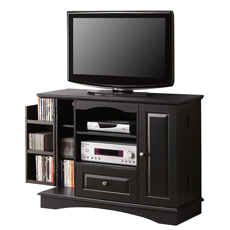 Walker Edison Highboy 48 In. TV Console With Media Storage