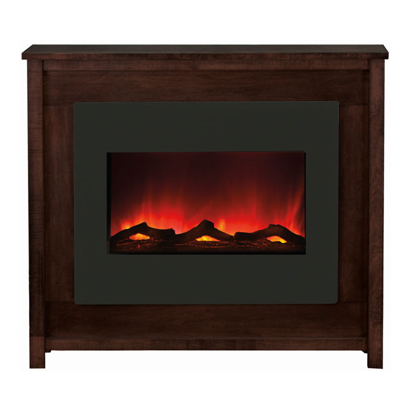 amantii electric fireplace with espresso mantle zecl 30