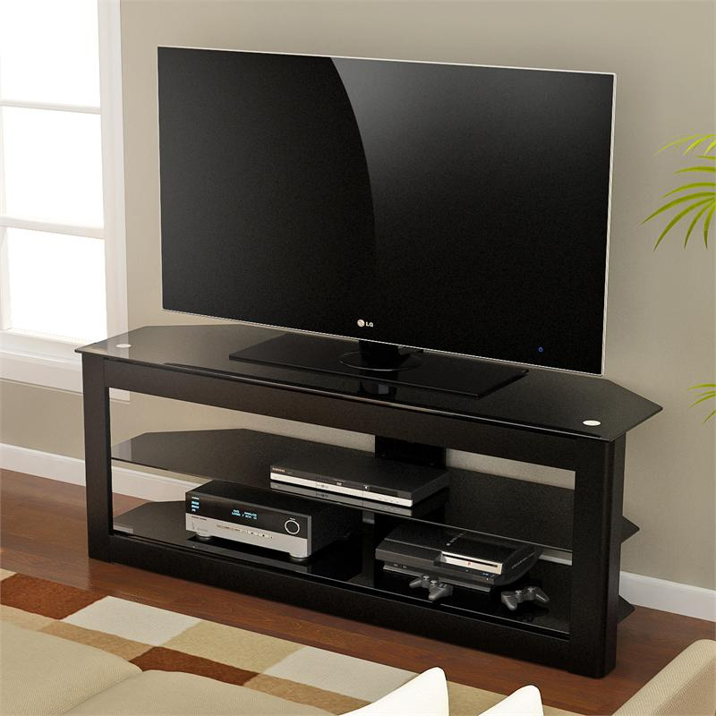 z line maxine 55 inch tv stand zl353 55su. Black Bedroom Furniture Sets. Home Design Ideas