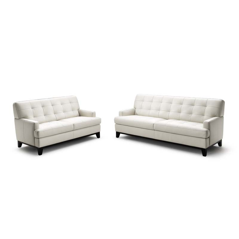 Wholesale interiors adair leather loveseat and sofa set for Leather sofa and loveseat set
