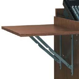 Good Chief Raxxess Side Flip Up Shelf For The ECR Racks (Walnut) ECR WT SHELF