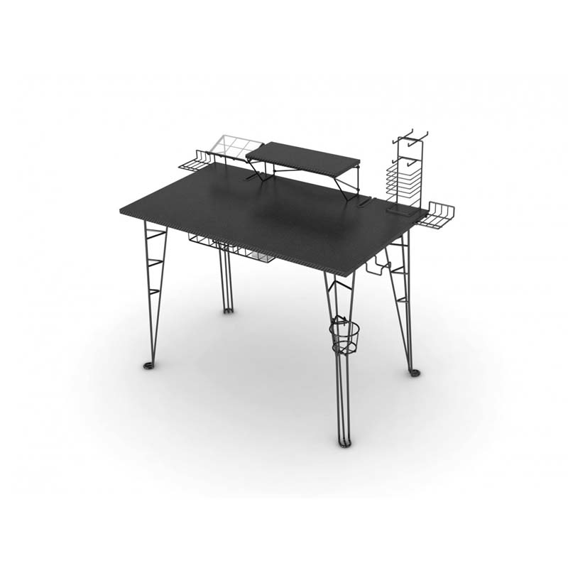 View a larger image of the Atlantic Gaming Center Desk (Black