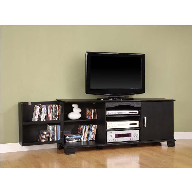 Walker edison jamestown 65 inch tv cabinet black w60c73bl for Best 65 inch tv mount
