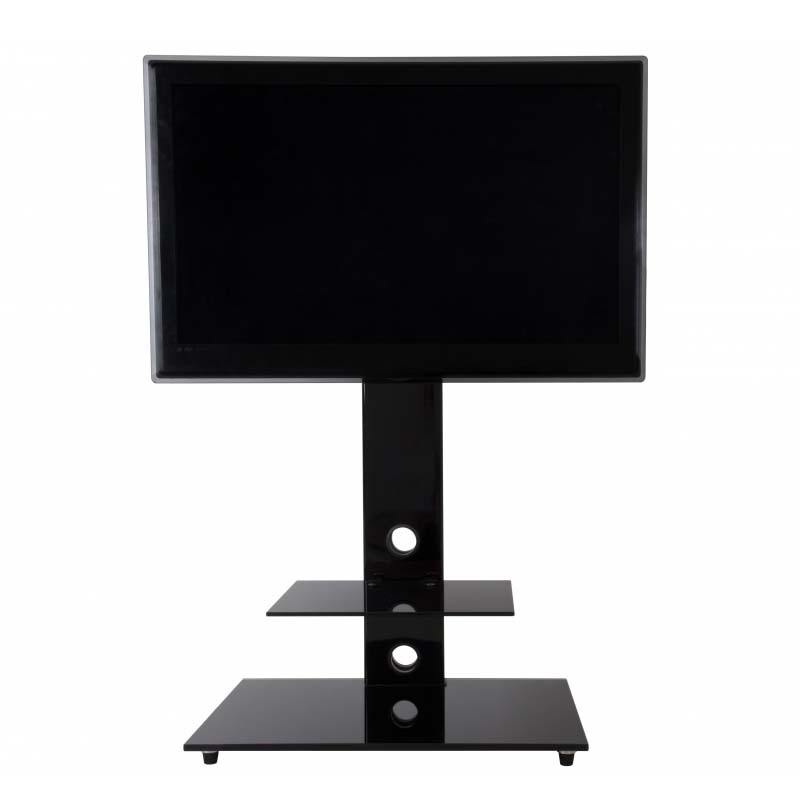 avf lesina 32 to 55 inch tv stand with attached mount black fsl700leba