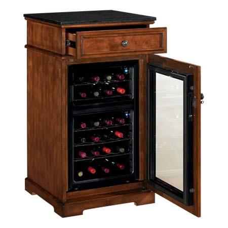 Tresanti Madison Refrigerated Wine Cabinet Cherry And