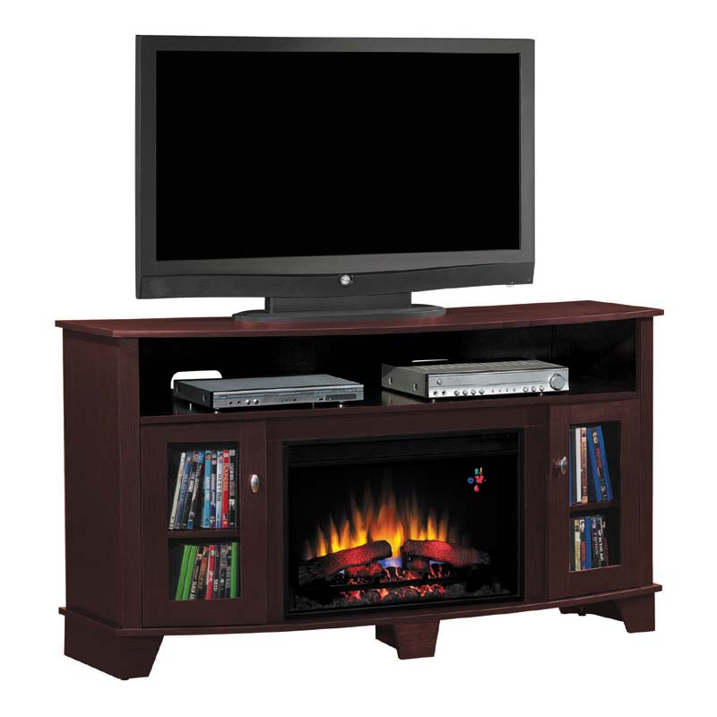 classic flame la salle 62 inch tv stand with electric