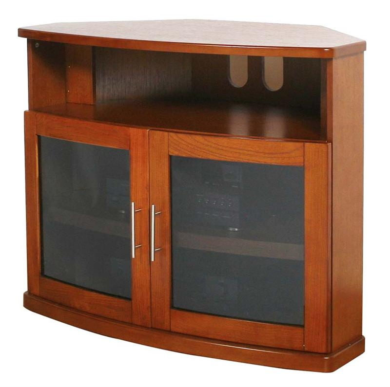 Glass Tv Cabinets With Doors Plateau Newport Series