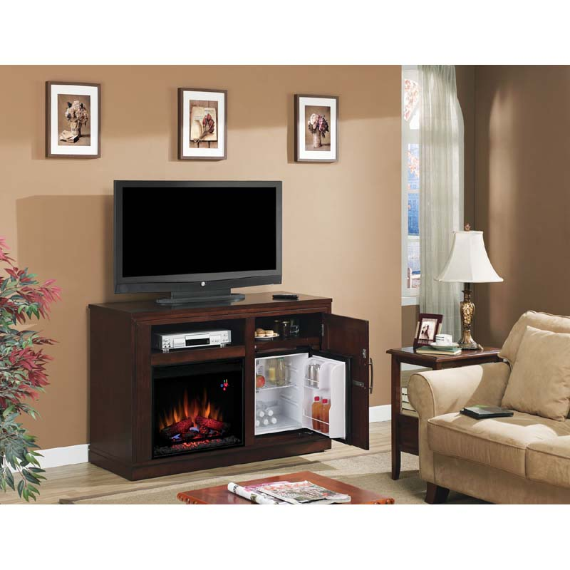 Classic Flame PartyTime TV Console with Electric Fireplace Insert ...