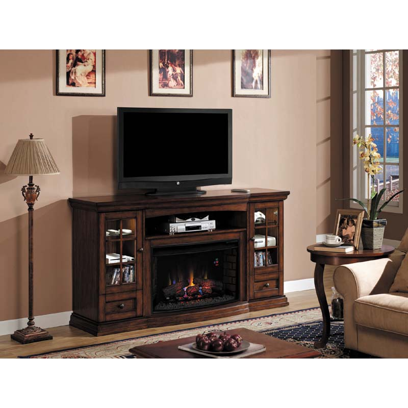 Classic Flame Seagate 73 inch TV Stand with Electric Fireplace ...
