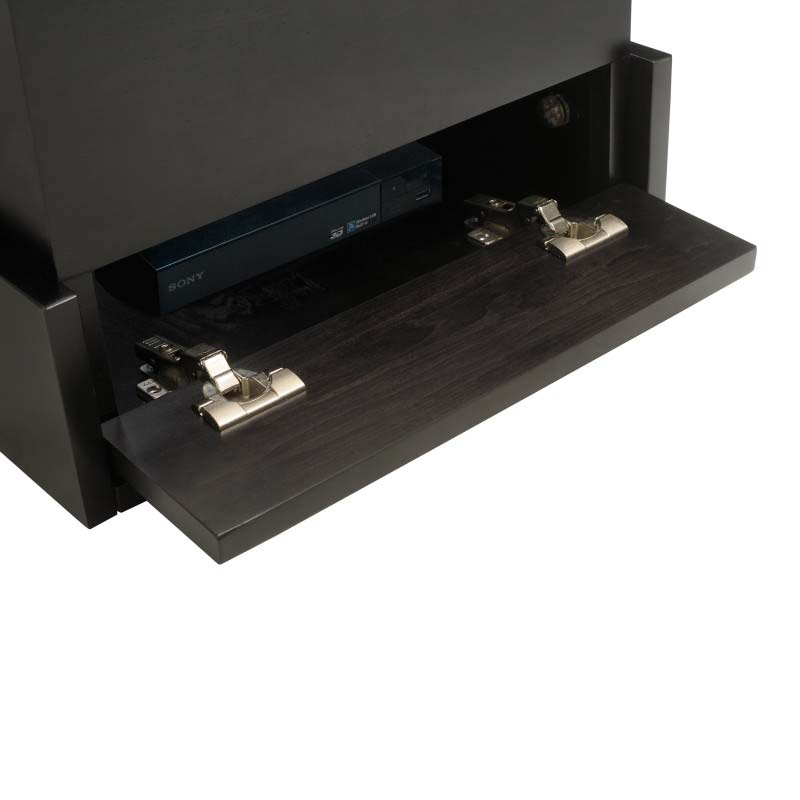 tv lift cabinet azura 360 degree swivel lift black. Black Bedroom Furniture Sets. Home Design Ideas