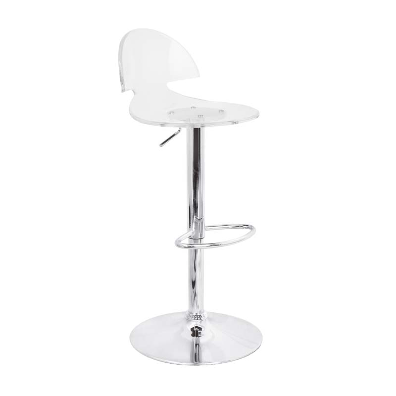 ... of the LumiSource Venti Bar Stool (Clear Acrylic) BS-TW-VENTI CL