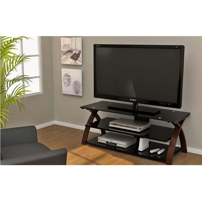 Z Line Designs Willow 58 Inch TV Stand Espresso And Black