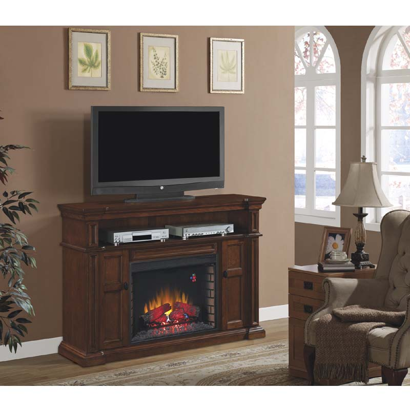 Classic Flame Wyatt 65 inch TV Stand with Electric Fireplace ...