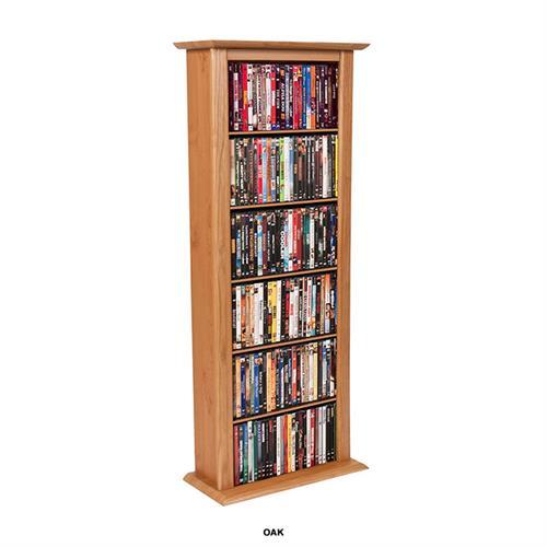 Venture Horizon Single Media Storage Tower Oak 2401 33oa