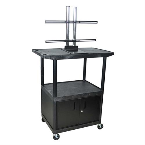 Luxor Kitchen Cabinets: Luxor 48 Inch Mobile LED Or LCD Table Top Stand With