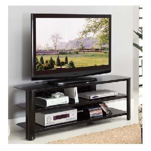 Innovex Oxford Series 60 Inch Flat Screen Tv Stand Black