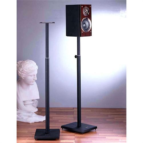 View a larger image of the VTI BL Series 34-59 inch Adjustable Height Speaker Stands (Black) BLE101B.