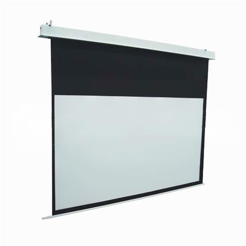 Elite screens evanesce series plenum rated recessed for Elite motorized projector screen