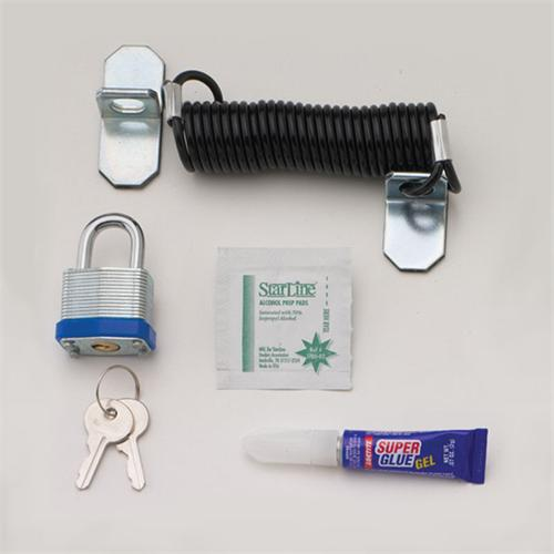 Security Cable Lock System : Chief lc cable lock security system and