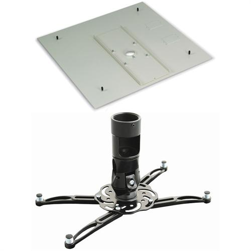 Drop-In Ceiling Projector Mount - Replaces 2x2 Tile | Classroom