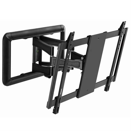 cambre full motion articulating tv wall mount for 37 to 65 inch screens black ss550. Black Bedroom Furniture Sets. Home Design Ideas