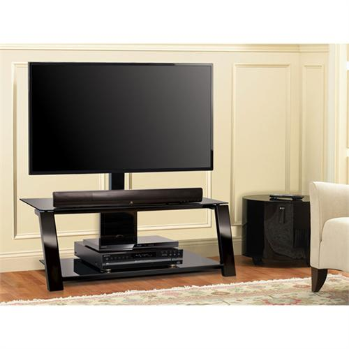 Bello Triple Play Tv Stand With Swivel Mount For Screens