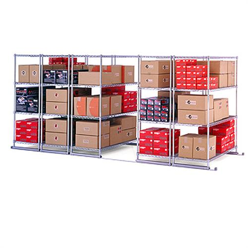 View a larger image of the OFM X5 Space-Saving Sliding Storage System (5-Rack Kits With Tracks) X5S.