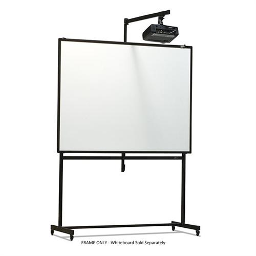 View a larger image of the Elite Screens Universal Portable Mobile Stand with Short-Throw Projector Mount for WhiteBoards ZWBMS-Pro.