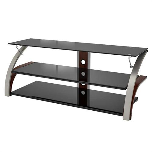 Z Line Designs Elecktra 55 Inch Tv Stand With Black Glass