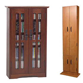 Enclosed Cabinets, Media Cabinets with Doors