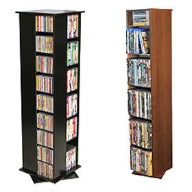 Media CD DVD Racks Cabinets Towers Free Shipping