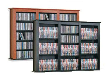 View a large image of the Prepac Triple-Wide Floating CD Wall Rack Various Finishes FW-0523 here.