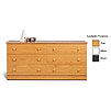 Prepac 6-Drawer Double-Wide Dresser (Various Finishes) D-5828-6
