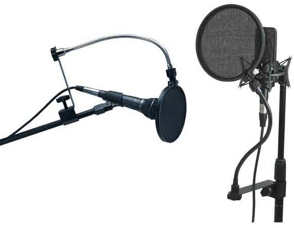 View a larger image of the Chief Raxxess 6 Pop Filter with Goose Neck POMT.