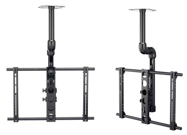 View A Larger Image Of The Sanus VisionMount Universal Ceiling Mount For Up  To 70 Inch
