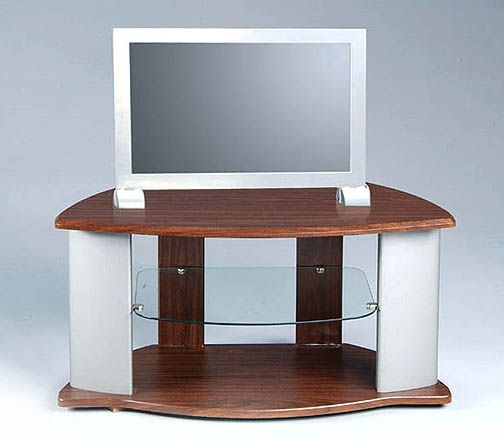 View a large image of the Symphony Stands Dual Tone Wooden TV Stand for 28-32 inch Screens 12459 here.