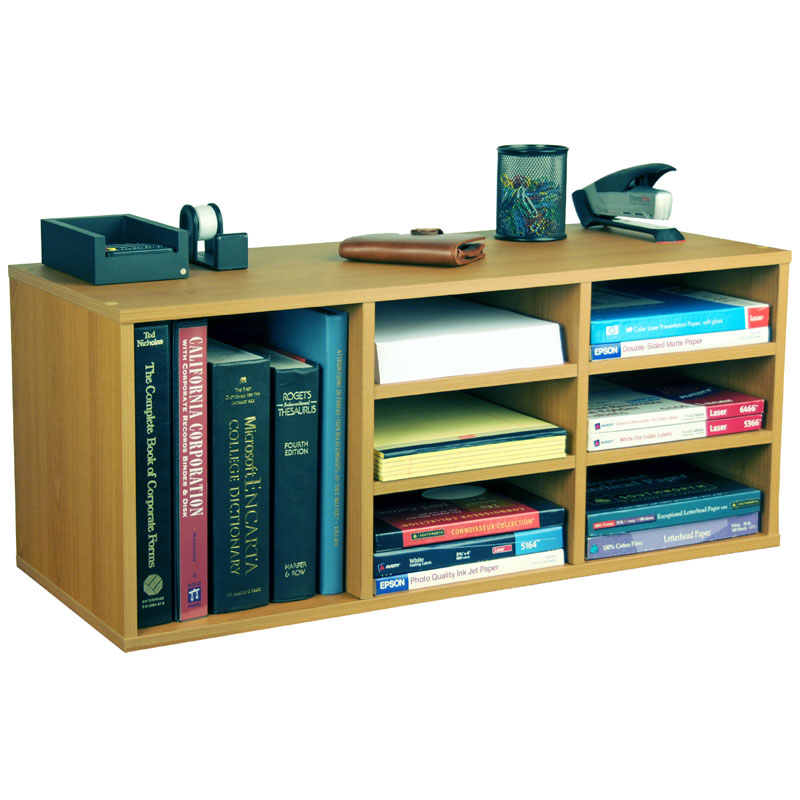 Total Organizing Solutions: Venture Horizon 9-Cubby Desk Organizer Various Finishes 1160