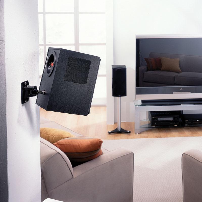 OmniMount 15.0W Universal Speaker Wall Mount upto 15lbs Speakers NEW IN BOX
