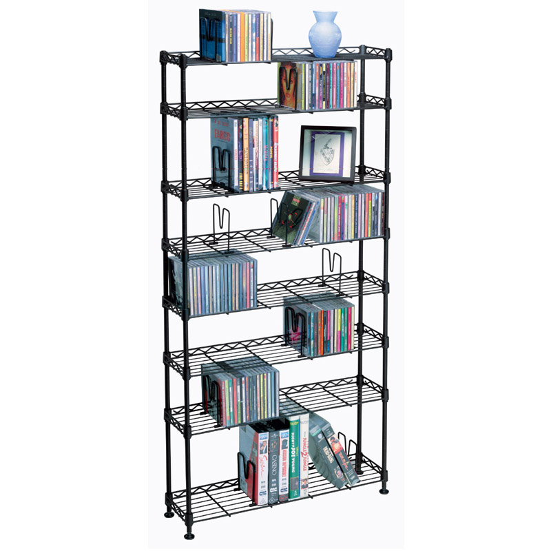 Atlantic Maxsteel Series 8-shelf Multimedia Storage Rack