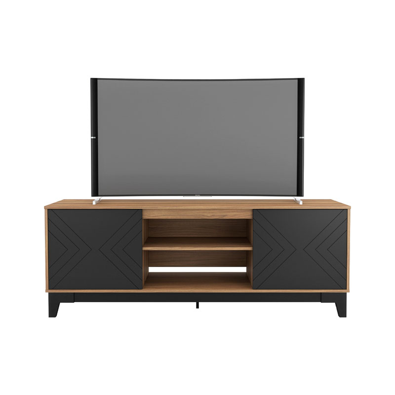 Nexera Arrow Tv Stand 71 Inch Nutmeg And Black 402331 A wide variety of arrow stand options are available to you stands and mounts