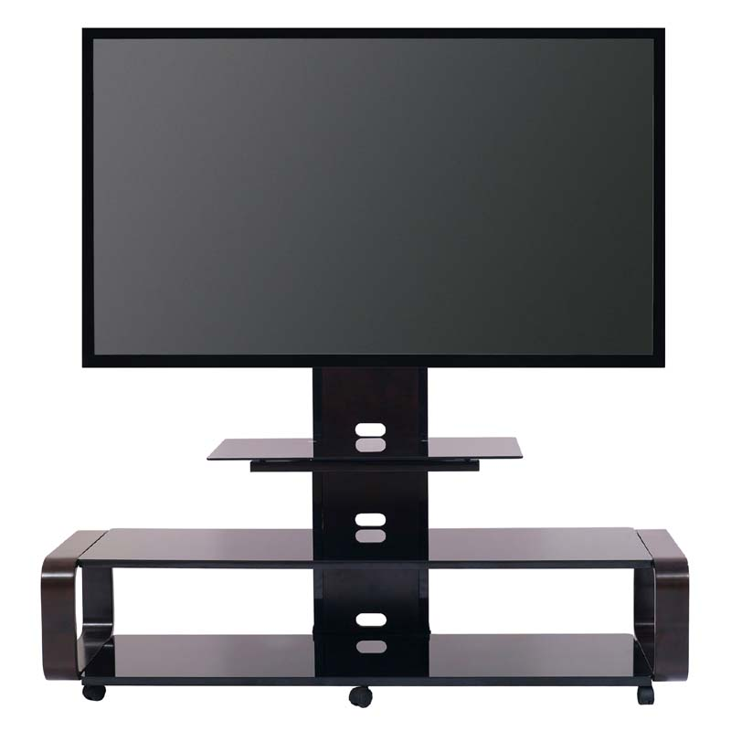 Transdeco 3 In 1 Tv Stand With Mounting System For 35 To 80 Inch