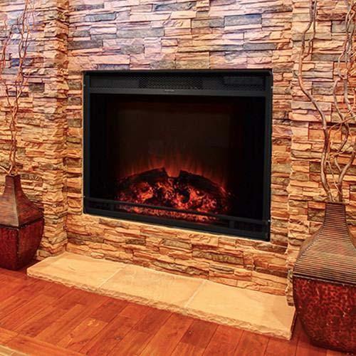 Touchstone Edgeline Electric Fireplace 28 In Firebox