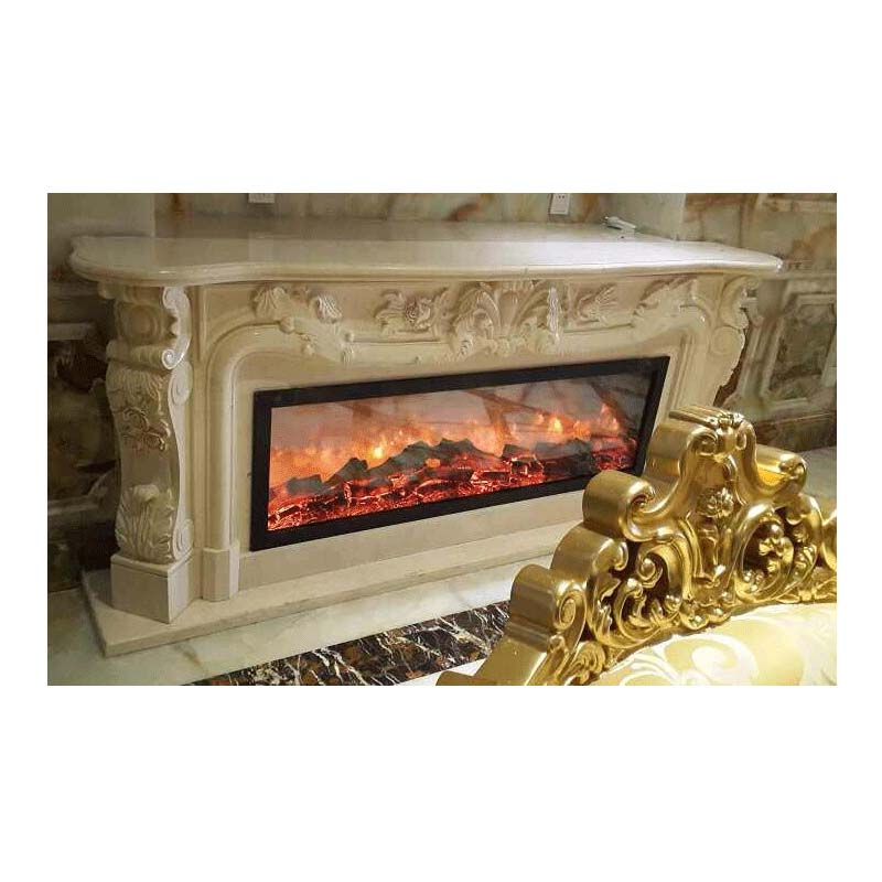 Touchstone Emblazon 60 In Wall Mounted Electric Fireplace No Heat 80102