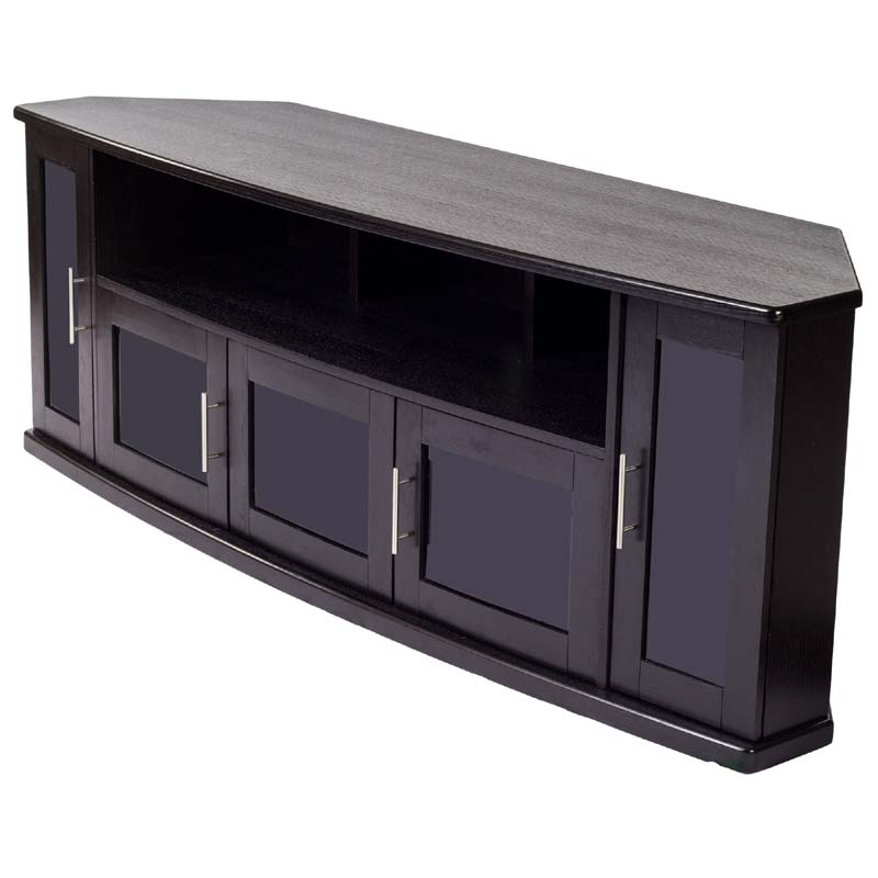 Incroyable View The Plateau Corner Wood TV Cabinet For Up To 90 In.