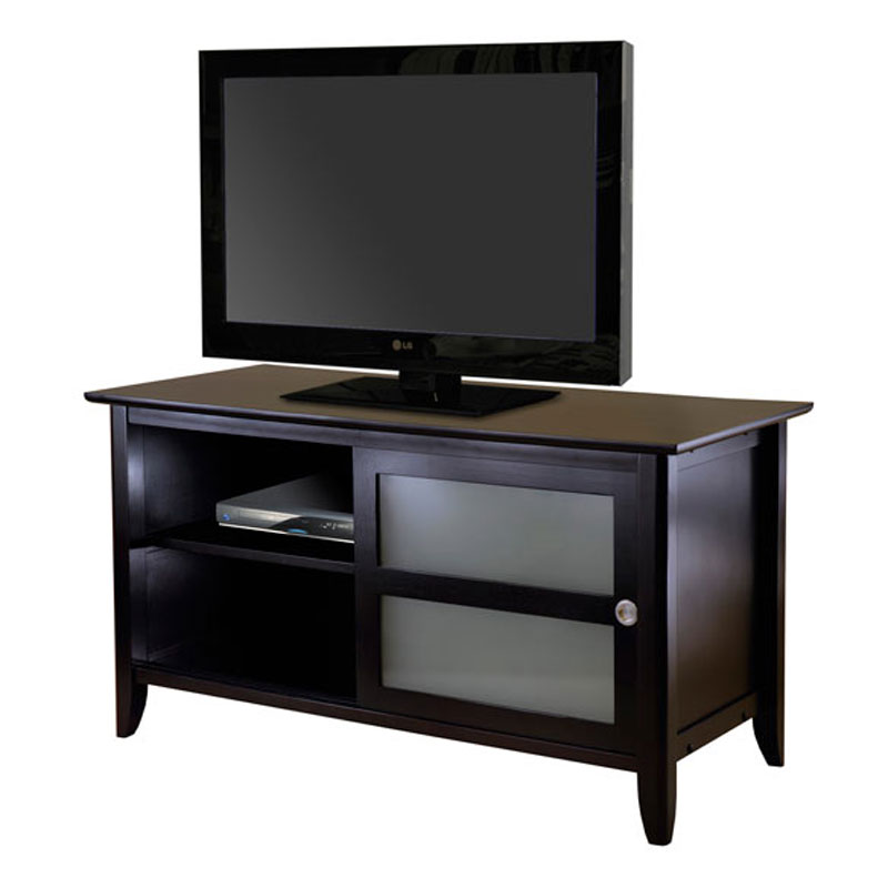 Winsome Wood Syrah Tv Stand 38 46 Inch Screens Espresso 92445