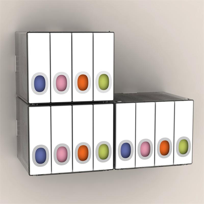 Ordinaire Atlantic Disc Album Cube 96 Disc (White) 96635495